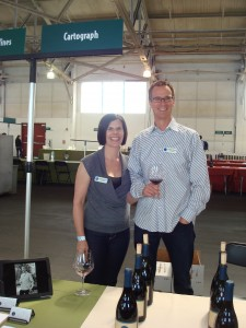 Brandye & Alan at Pinot Days