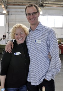 Alan & Serena at Pinot Days