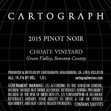2015 Choate Vineyard Pinot Noir Magnum