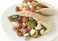 Greek Salad Pitas