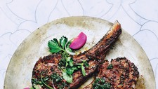 Mint Crusted Lamb Chops