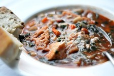 Ribollita (Tuscan Tomato and Bread Soup)